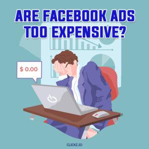 are facebook ads too expensive - clickz.io